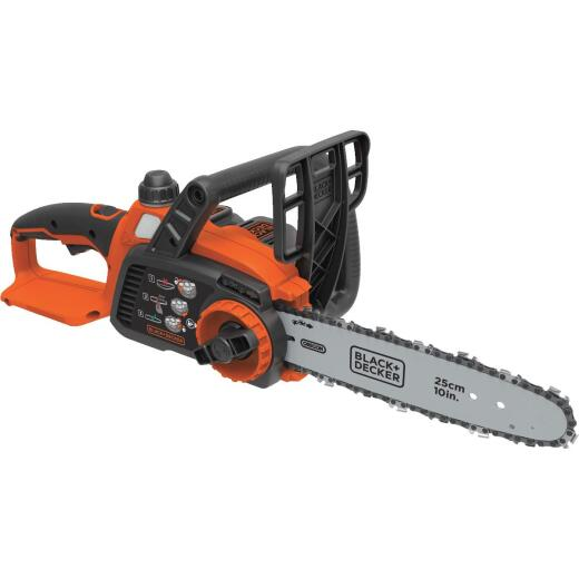 Black & Decker 10 In. 20V MAX Lithium Ion Cordless Chainsaw